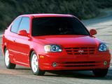 Hyundai Accent 3-door US-spec 2003–06 photos