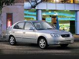 Hyundai Accent 5-door 2003–06 photos