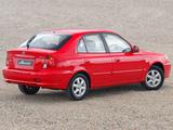 Hyundai Accent 5-door AU-spec 2003–06 pictures