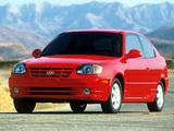 Hyundai Accent 3-door US-spec 2003–06 pictures