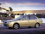 Hyundai Accent Sedan 2003–06 wallpapers
