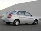 Hyundai Accent Sedan ZA-spec 2006–11 images