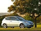 Hyundai Accent 3-door 2006–07 images