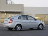 Hyundai Accent Sedan ZA-spec 2006–11 photos