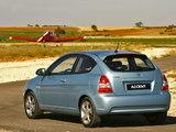 Hyundai Accent 3-door 2006–07 photos