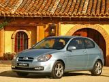 Hyundai Accent 3-door 2006–07 pictures