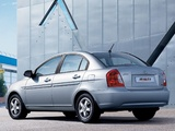 Hyundai Accent Sedan 2006–10 pictures