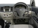 Hyundai Accent Sedan ZA-spec 2006–11 pictures
