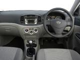 Hyundai Accent Sedan ZA-spec 2006–11 wallpapers
