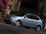 Hyundai Accent 3-door ZA-spec 2007–11 images