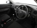 Hyundai Accent 3-door ZA-spec 2007–11 photos