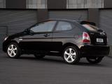 Hyundai Accent 3-door ZA-spec 2007–11 wallpapers