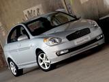 Hyundai Accent SR Sedan 2008 wallpapers