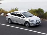 Hyundai Accent Sedan ZA-spec (RB) 2010 photos