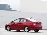 Hyundai Accent US-spec (RB) 2011 images