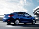 Hyundai Accent US-spec (RB) 2011 pictures