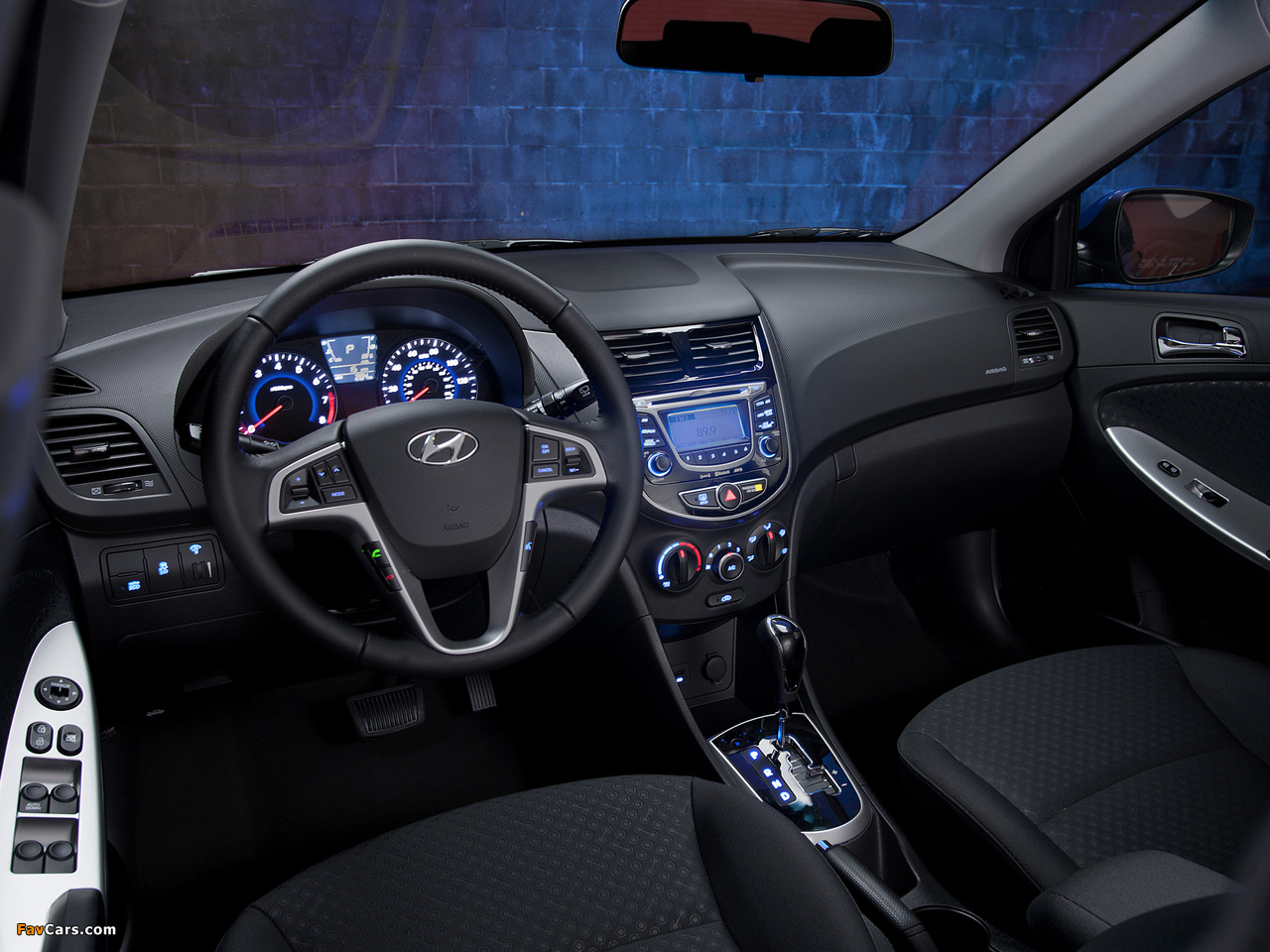 Hyundai Accent US-spec (RB) 2011 wallpapers (1280 x 960)