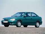 Images of Hyundai Accent 3-door 1996–2000