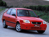 Images of Hyundai Accent 3-door AU-spec 2003–06