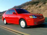 Images of Hyundai Accent 3-door US-spec 2003–06