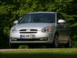 Images of Hyundai Accent 3-door 2006–07