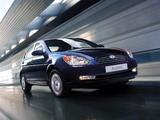 Images of Hyundai Accent Sedan 2006–10