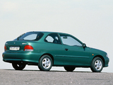 Photos of Hyundai Accent 3-door 1996–2000