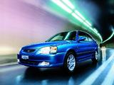 Photos of Hyundai Accent 3-door 2000–03