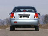 Photos of Hyundai Accent Sedan 2003–06