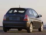 Photos of Hyundai Accent 3-door US-spec 2006–11
