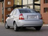 Photos of Hyundai Accent Sedan ZA-spec 2006–11
