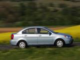 Photos of Hyundai Accent Sedan 2006–10
