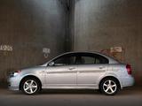 Photos of Hyundai Accent SR Sedan 2008