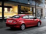 Photos of Hyundai Accent (RB) 2010