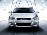Photos of Hyundai Accent US-spec (RB) 2011