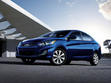 Photos of Hyundai Accent US-spec (RB) 2011