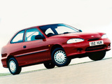 Pictures of Hyundai Accent 3-door 1996–2000