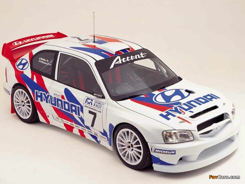 Pictures of Hyundai Accent WRC 2000–03 (800 x 600)