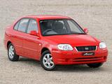 Pictures of Hyundai Accent 5-door AU-spec 2003–06
