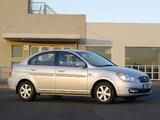 Pictures of Hyundai Accent Sedan ZA-spec 2006–11