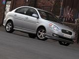 Pictures of Hyundai Accent SR Sedan 2008