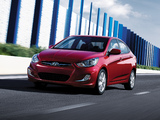 Pictures of Hyundai Accent US-spec (RB) 2011