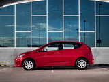 Pictures of Hyundai Accent 5-door AU-spec (RB) 2011
