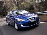 Pictures of Hyundai Accent AU-spec (RB) 2011