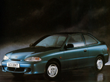 Hyundai Accent 3-door 1996–2000 wallpapers