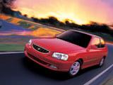 Hyundai Accent 3-door 2000–03 wallpapers