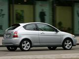 Hyundai Accent 3-door 2006–07 wallpapers