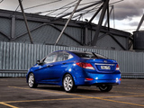 Hyundai Accent AU-spec (RB) 2011 wallpapers
