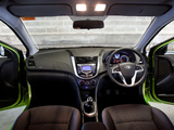 Hyundai Accent 5-door AU-spec (RB) 2011 wallpapers