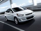 Hyundai Accent US-spec (RB) 2011 wallpapers